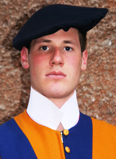 Papal Swiss Guard Philipp Haas